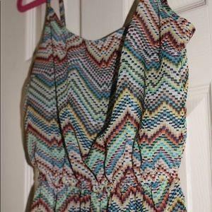 Ocean Drive Patterned Dress